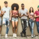 Millennials and phones